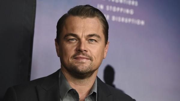 El actor Leonardo DiCaprio durante una presentación en Los Ángeles