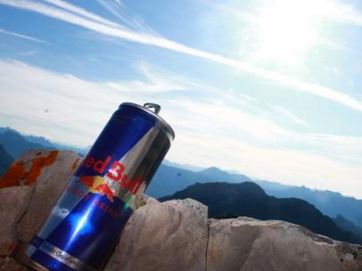 Lata de Red Bull.