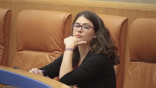 La diputada de Podemos-Equo, Raquel Romero Alonso.