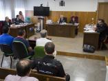 Juicio contra los acusados tras el apuñalamiento al jefe de la Policía Local de Punta Umbría (Huelva).