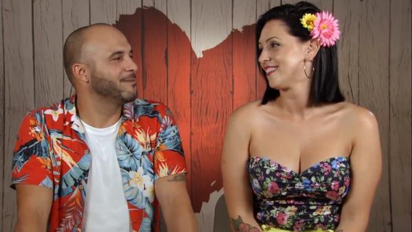 Benjamín y Ana, en 'First dates'.