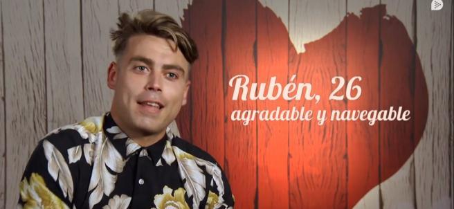 Rubén, en 'First dates'.