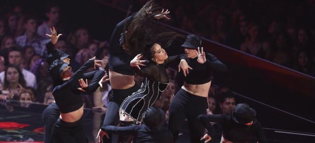 Rosalía, en los MTV Vídeo Music Awards