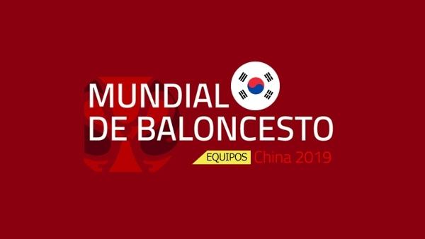 Corea del Sur en el Mundial 2019.