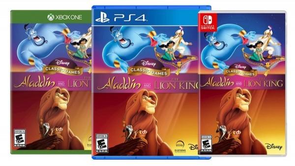 Los clásicos de 'Aladdín' y 'El rey león' llegarán en otoño a Switch, PS4 y Xbox One