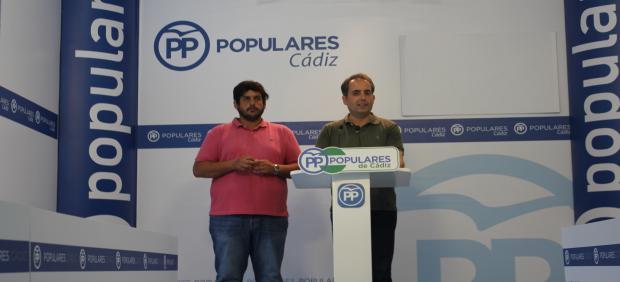 Antonio Saldaña en rueda de prensa