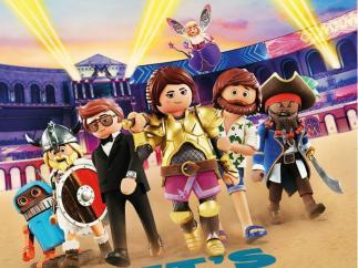 Playmobil y otros juguetes que tienen su propia película