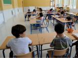 Alumnos andaluces en el aula de un colegio de Primaria
