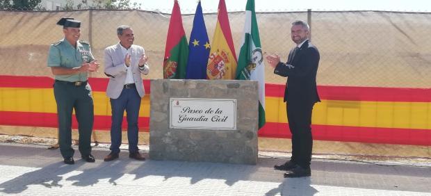 Calle dedicada a la Guardia Civil en Benalup Casas-Viejas