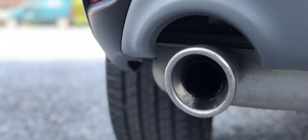 Recurso de tubo de escape, emisiones, contaminación