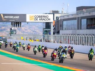 Carrera en MotorLand Aragón