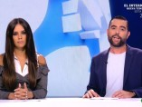Cristina Pedroche y Dani Mateo durante el primer programa de la nueva temporada de 'Zapeando'