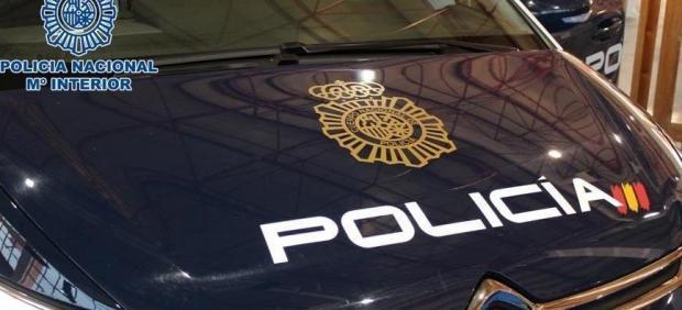 Coche patrulla de la Policía Nacional