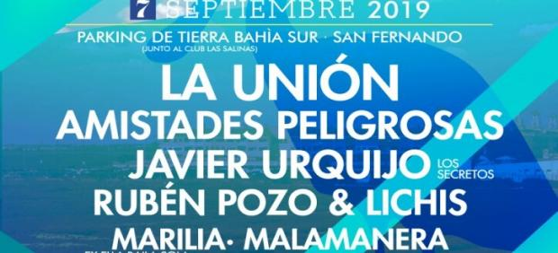 Medio Ambiente y música se unen en 'Bahía ¡En Vivo!', el primer ciclo sostenible de San Fernando