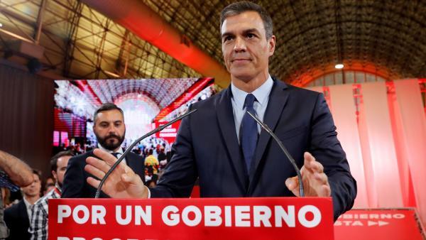 Sánchez presenta el acuerdo programático