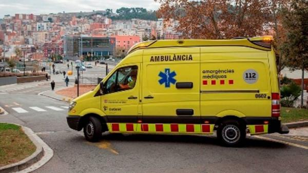 Ambulancia en Lleida