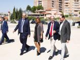 El presidente del Gobierno de Aragón, Javier Lambán, y la consejera de Presidencia, Mayte Pérez, han visitado la D.O. Jamón de Teruel.