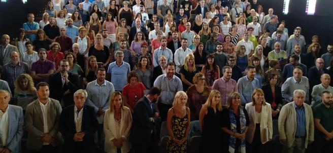 La presidenta de la Diputación de Barcelona, Núria Marín, preside una reunión con 150 municipios sobre pobreza energética