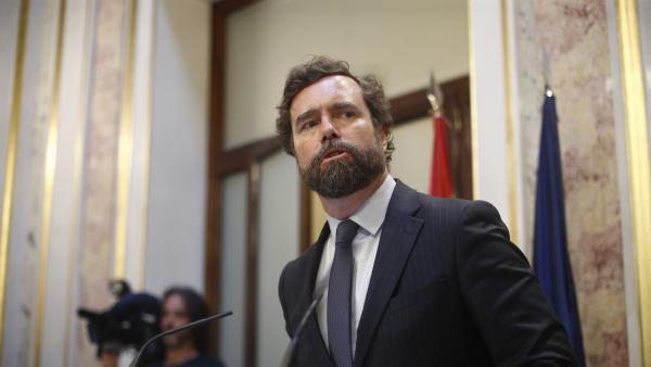 Imagen recurso del portavoz de Vox en el Congreso de los Diputados, Iván Espinosa de los Monteros