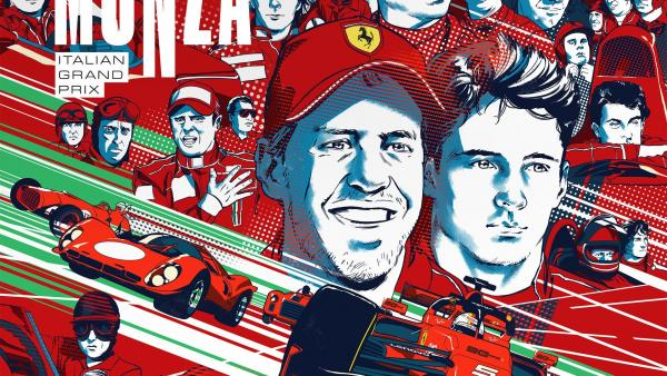 Cartel de Ferrari