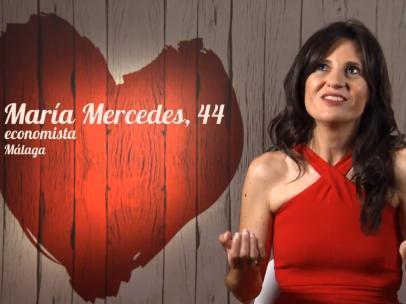 María, en 'First dates'.