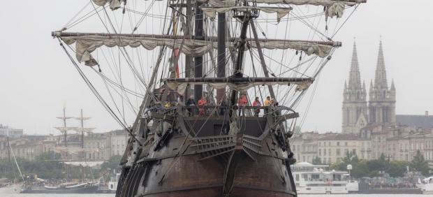 El barco Nao Victoria