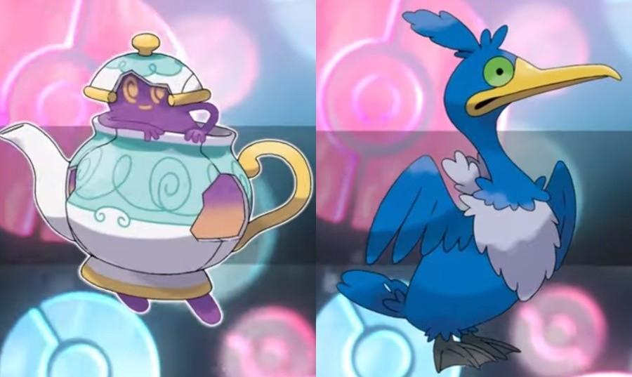 Polteageist y Cramorant, nuevos Pokémon