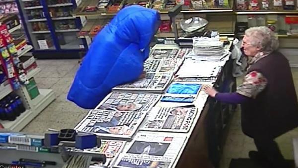 Robo en una tienda en Reino Unido