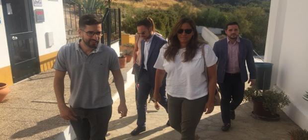 Estefanía Brazo, diputada de Cs en la Diputación de Cádiz