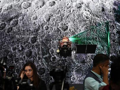 Pérdida de contacto con el módulo espacial indio Chandrayaan-2