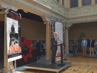 Olona ha inaugurado las XXXV Ferias del Jamón de Teruel.