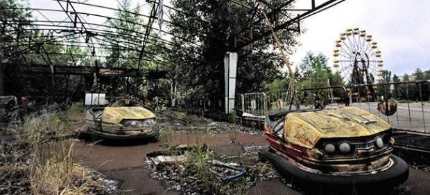 Parque de atracciones abandonado en Chernóbil