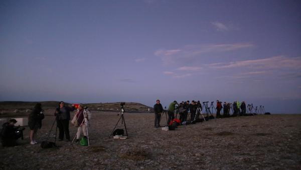 Curso de astrofotografía en Javalambre.