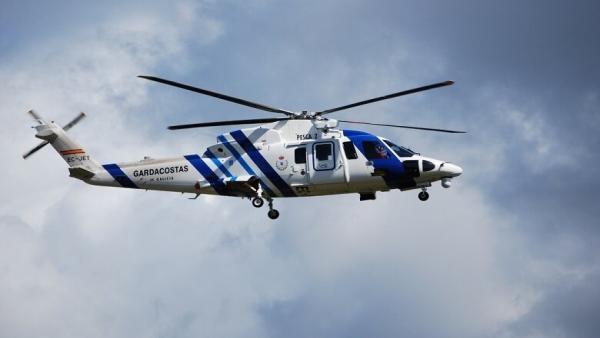 Helicóptero 'Pesca II' de Gardacostas de Galicia.