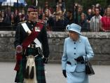 La Reina Isabel, en Escocia