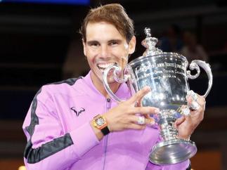 Rafael Nadal, campeón del US Open