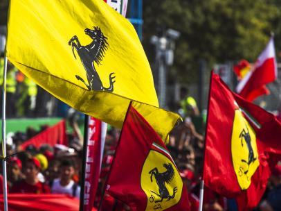 Banderas de Ferrari