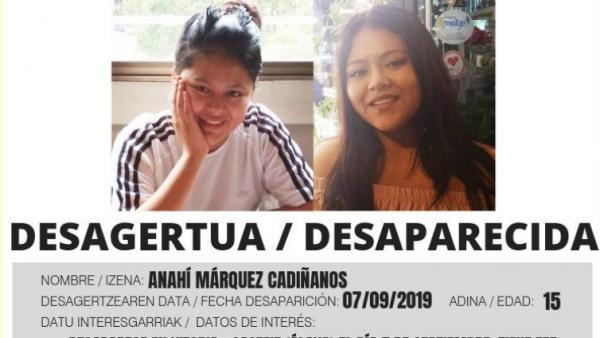 Alerta de Vost Euskadi sobre la desaparición.
