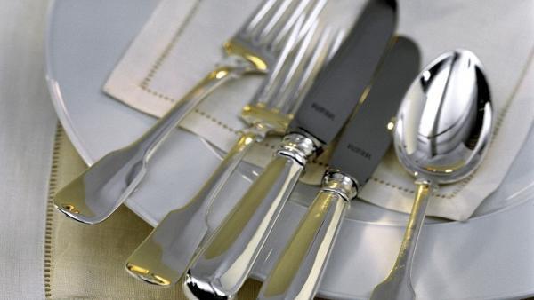 Cubiertos de cocina, cucharas, tenedores