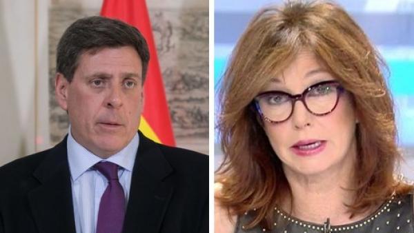 Juan Carlos Quer y Ana Rosa Quintana
