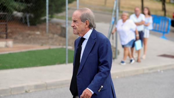 José María García, tras el velatorio de Blanca Fernández Ochoa