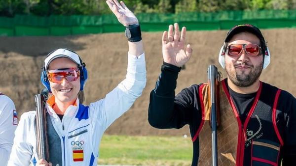 Fátima Gálvez y Alberto Fernández ganan el oro Europeo