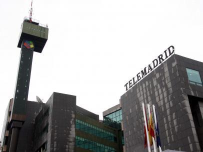 Imagen de recurso del exterior de la sede de Telemadrid.