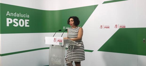 La parlamentaria del PSOE por Cádiz, Noelia Ruiz