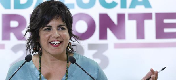La líder de Podemos en Andalucía, Teresa Rodríguez.