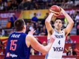 Argentina avanza a semifinales del Mundial de baloncesto
