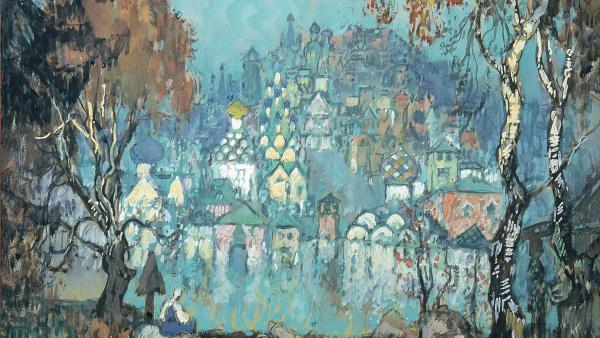 Ilustración de Kitezh