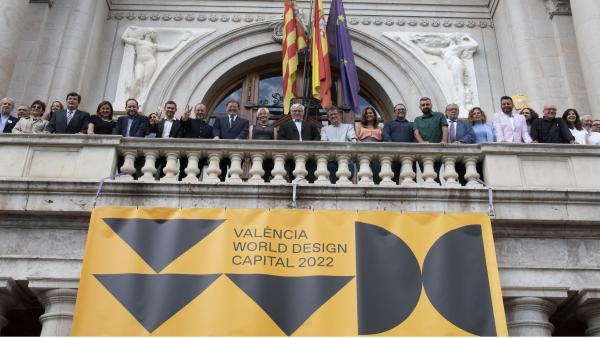 Acto de presentación de València como Capital del Diseño 2022.