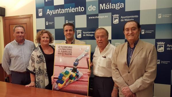 Presentación del Concurso Nacional de Albañilería, organizado por la Peña 'El Palustre'
