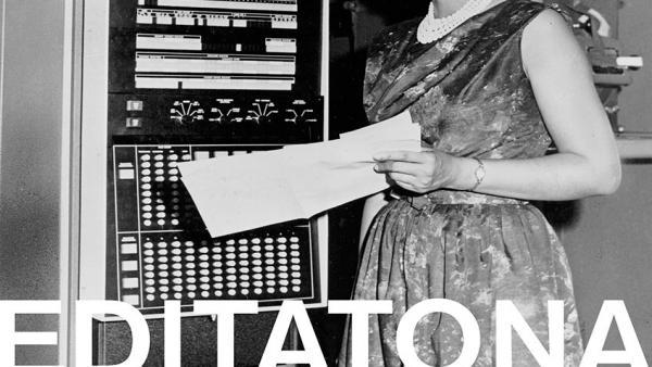 Cartel sobre la jornada para editar Wikipedia con perspectiva de género